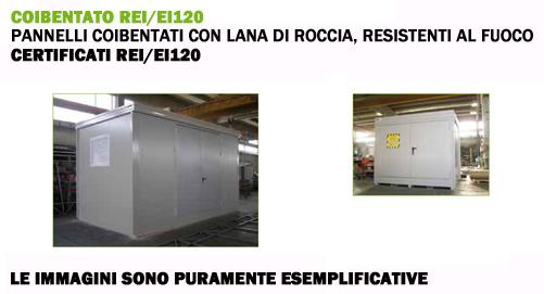 Container Coibentati REI/EI120