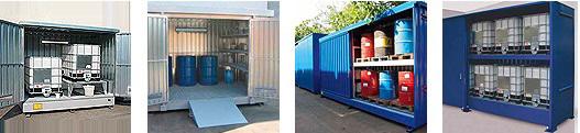 Deposito container