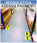 Segnaletica adesiva pavimenti