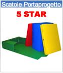Scatole Portaprogetto 5 Star