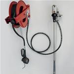 Kit Avvolgitubo a parete con pompa e pistola digitale per olio