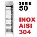Armadio Portaoggetti serie 50 AISI 304