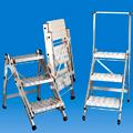 Sgabelli pieghevoli alluminio