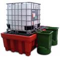 Vasche di raccolta per 2 cisternette IBC