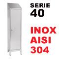 Armadio Portaoggetti serie 40 AISI 304