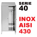 Armadi Acciaio Inox Sporco/Pulito Aisi 430 P40