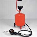 Serbatoi pneumatici per olio con contalitri