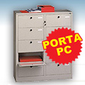 Cartelliera PORTA PC a 10 caselle
