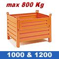 Contenitore porta Metallo -  800Kg