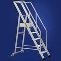 Scale per scaffalature in alluminio