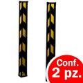 Paraspigoli in gomma nero / giallo