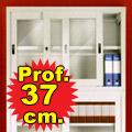 Sopralzi porte scorrevoli a vetro p. 37 cm
