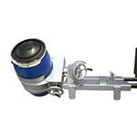Ribaltatore fusti laterale acciaio INOX