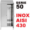 Armadio Acciaio Inox Sporco/Pulito Aisi 430 P50