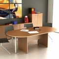 Tavolo Riunione per ufficio 3300mm