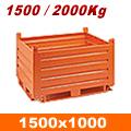 Contenitore ferro da 1500x1000 mm