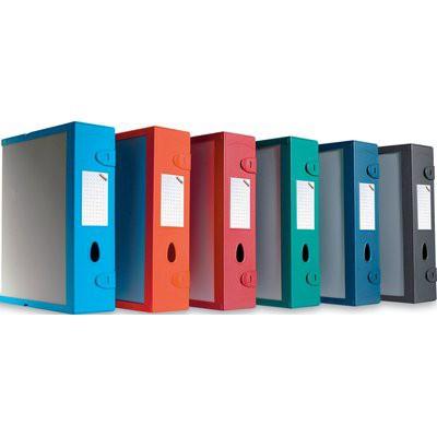 Scatola archivio combi box e500 d 9 mm rosso for Ammortamento arredi ufficio