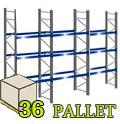 Scaffalature industriali Portapallet H345
