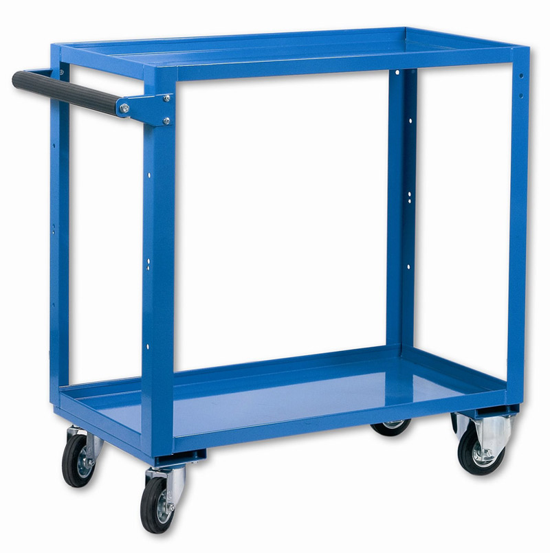 Carrelli da officina con ripiano a vasca for 2 box auto con officina e soppalco