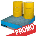 Vasche di raccolta per fusti olio