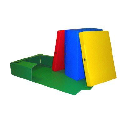 Scatole portaprogetto 5 Star - Dorso 4 cm, verde