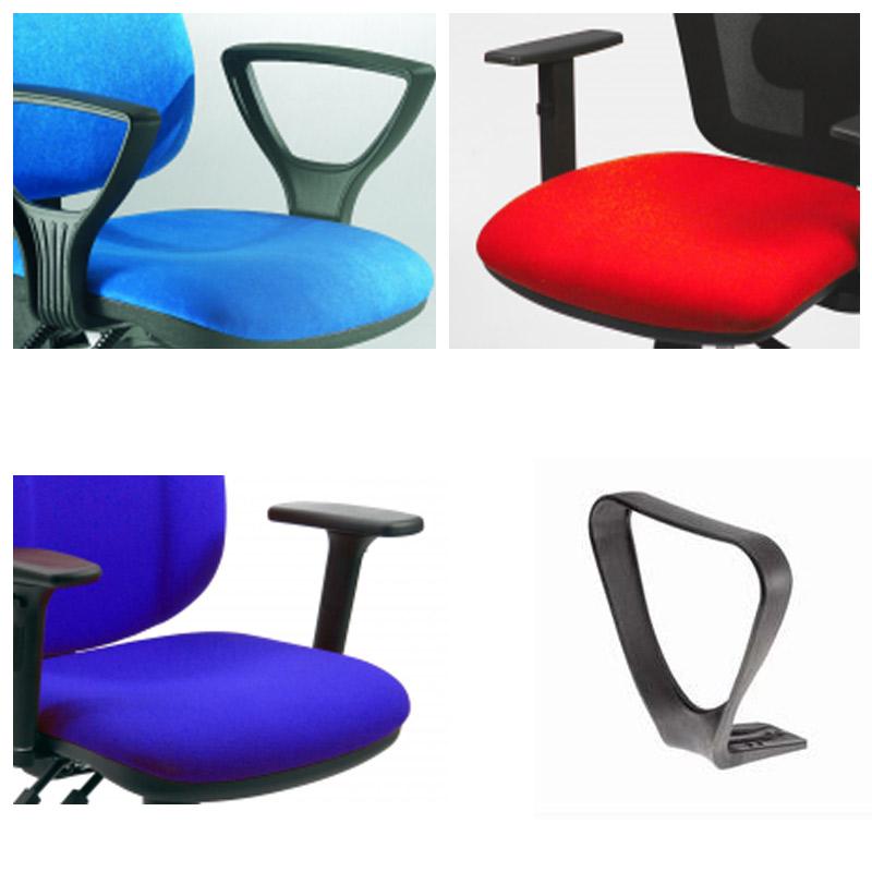 Braccioli sedie operative LEDA