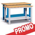 Offerta banchi lavoro piano in legno