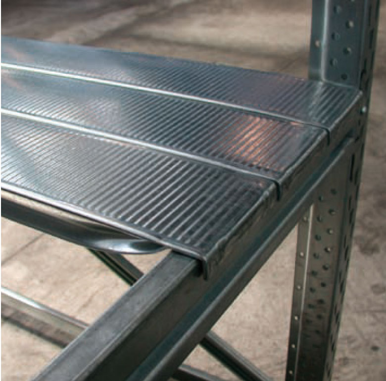 Scaffalature Metalliche Marcegaglia.Spalle Marcegaglia Serie Light Bi Bloc