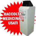 Cassonetto quadrato raccolta medicinali scaduti 150 lt.
