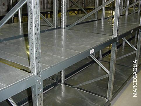 Scaffalature Metalliche Marcegaglia.Pannello Per Scaffalature Light Bi Bloc