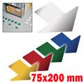 Frecce segnaletica adesiva 75x200 mm