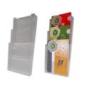 Porta flyer da MURO in plexi 3 tasche A4