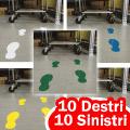 Orme adesive da pavimento