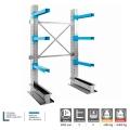 Cantilever porta ferro tondini e tubolari 2 colonne monofronte