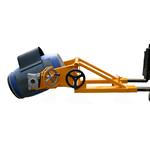 Ribaltatore inforcabile da muletto manuale