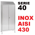Armadio Portaoggetti serie 40 AISI 430