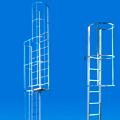 Scale con gabbia di protezione in alluminio elettrosaldata