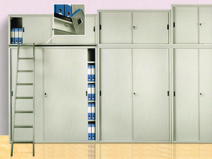 Armadio Metallico Ufficio : Scala alluminio per armadi ufficio
