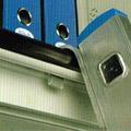 Scala alluminio per armadi ufficio