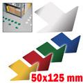 Frecce adesive per marcatura orizzontale 50x125mm