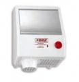 Asciugamani elettrico a pulsante in ABS - 2000W
