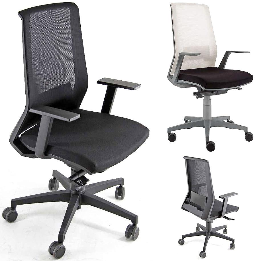 - Sedia ufficio girevole uso intenso