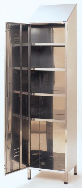 Armadio portaoggetti serie 50 aisi 304 - Portaoggetti armadio ...