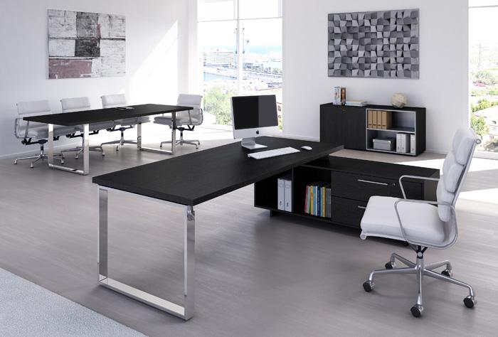 Scrivania Ufficio In Metallo : Scrivania ufficio fianchi in metallo