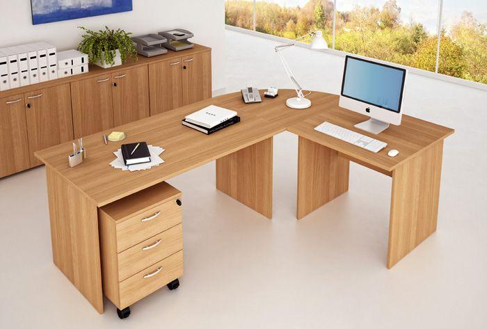 Scrivanie ufficio con fianchi pannellati for Scrivanie operative ufficio