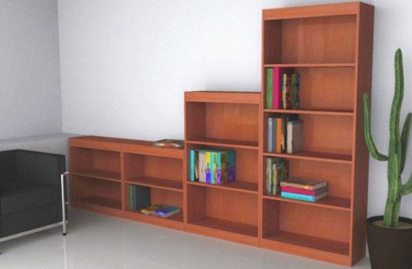 Libreria a giorno uso ufficio - Libreria ufficio ...
