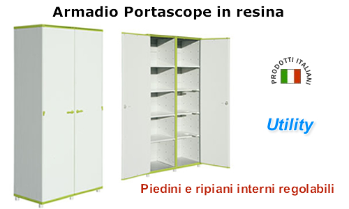 Armadio Portascope In Plastica.Armadi In Plastica Per Esterni Beautiful Armadi In Plastica Per
