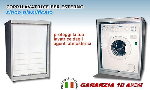 Ricerche correlate a Contenitori per lavatrici da esterno