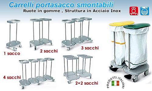 Carrello Portasacco
