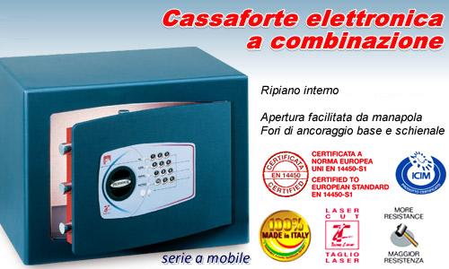 Cassaforte a mobile a combinazione elettronica - Fissare cassaforte a mobile ...